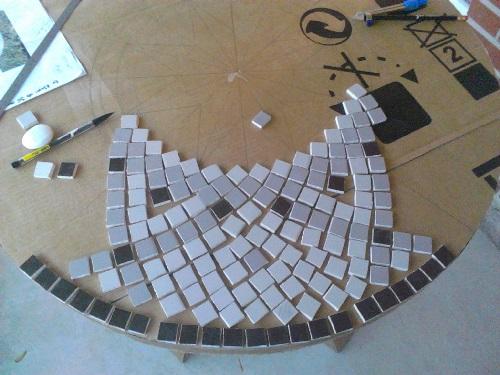 Comment Faire Un Dessus De Table En Mosaique