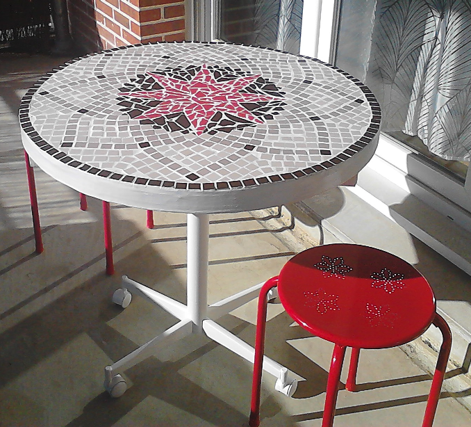 Emejing Fabriquer Table De Jardin En Mosaique Gallery - House Design ...